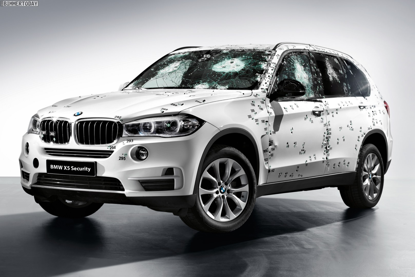 BMW X5 Security Plus Salone di Mosca 2014