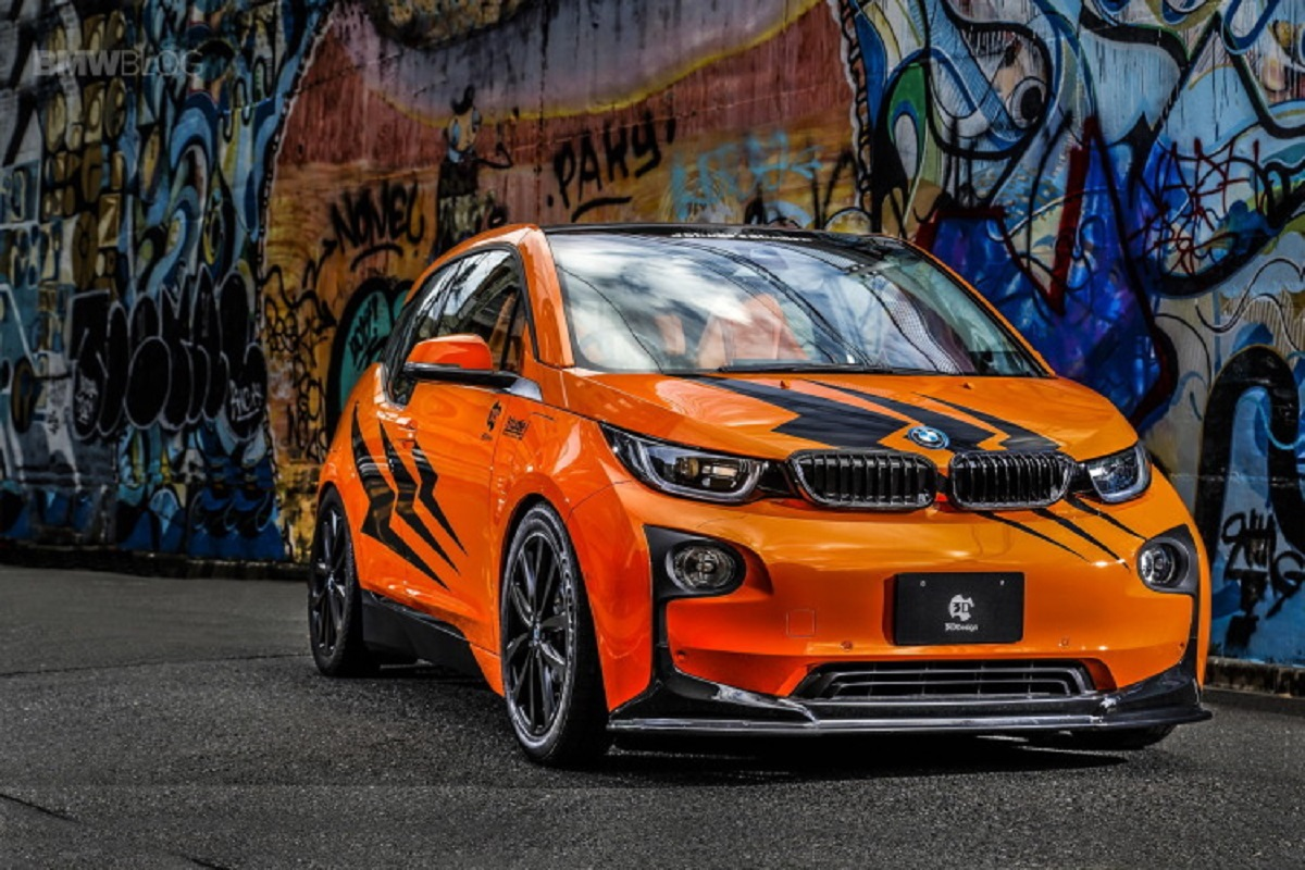 BMW i3 design 3D tuning