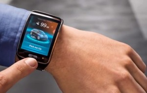 BMW Remote Valet Parking Assistant smartwatch